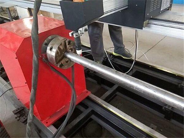 2017 دستگاه برش لوله پلاسما فلز پلاسما نوع جدید ، دستگاه برش لوله فلزی CNC