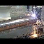 دستگاه برش فولادی لوله چرخشی لوله محور CNC 3 محور CNC