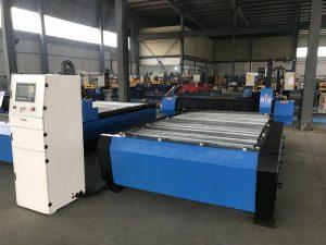 چین 1325 1530 دستگاه کنترل کننده ارتفاع مشعل ارزان قیمت پلاسما فلز huayuan فلز برش CNC دستگاه برش پلاسما