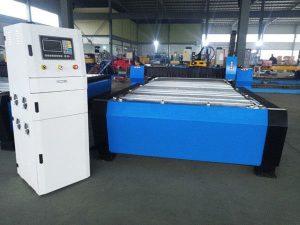 دستگاه برش پلاسما CNC چین تراکم بیش از حد 125a ورق فلز ضخامت 65a 85a 200a اختیاری jbt-1530