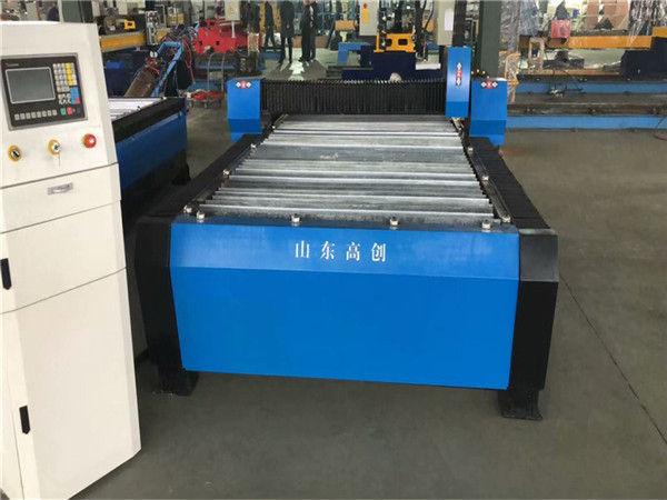 چین Huayuan 100A پلاسما برش دستگاه CNC 10mm صفحه فلزی