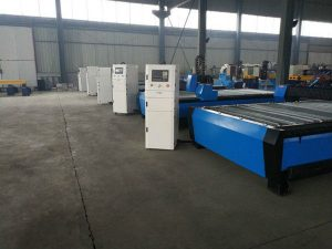 CNC دستگاه برش شعله پلاسما قابل حمل / میز رومیزی / سخت افزار CNC دستگاه برش فولاد ضد زنگ