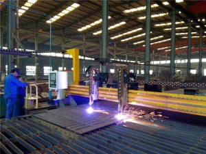 دستگاه برش پلاسما Gantry CNC و دستگاه برش شعله ورق فولادی