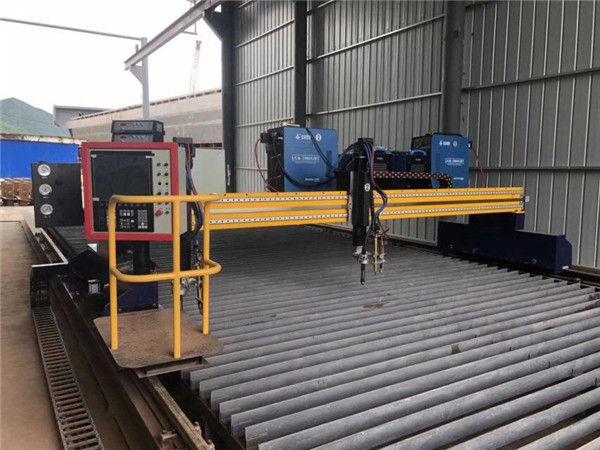 گانتری دستگاه برش پلاسما CNC قیمت ارزان قیمت را منتقل کرد