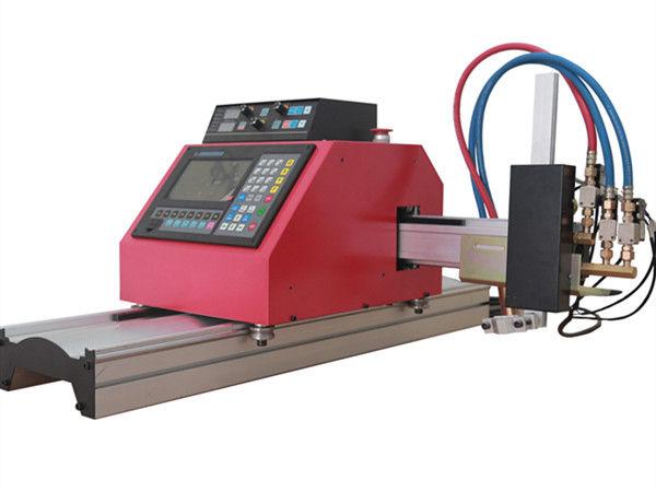 دستگاه برش لوله فولادی مربعی چند منظوره CNC FlamePlasma دستگاه برش با کیفیت بالا