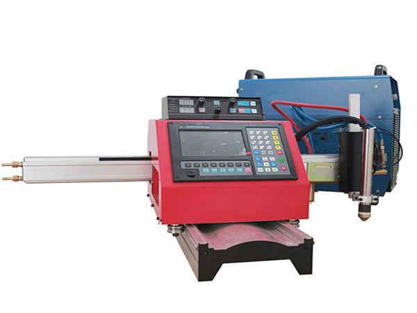 دستگاه برش پلاسما قابل حمل CNC و دستگاه برش اتوماتیک گاز با آهنگ فولادی