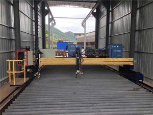 دستگاه برش دقیق پلاسما cnc دستگاه سروو موتور 13000 میلی متر دقیق