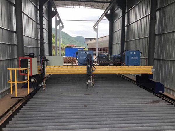ورق فولادی دستگاه برش فلزی ورق پلاسما اندازه CNC 1500x3000mm اندازه