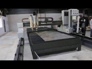 ماشین آلات واقعی سوراخ cnc چین برش پلاسما