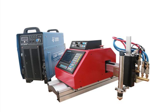 CNC قابل حمل پلاسما ، گاز ، شعله ، دستگاه برش فلز ورق اکسیژن با THC