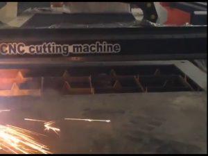 تضمین تجارت دستگاه ارزان قیمت برش قابل حمل cnc دستگاه برش پلاسما برای مات فولاد ضدزنگ ایرو